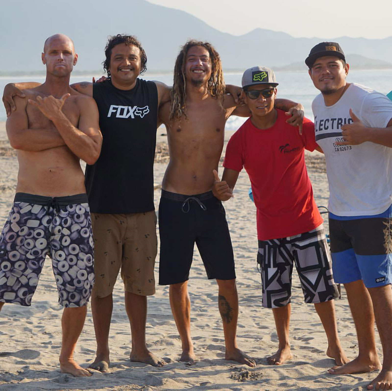 Good Crew, Las Palmeras Surf Camp, Salina Cruz