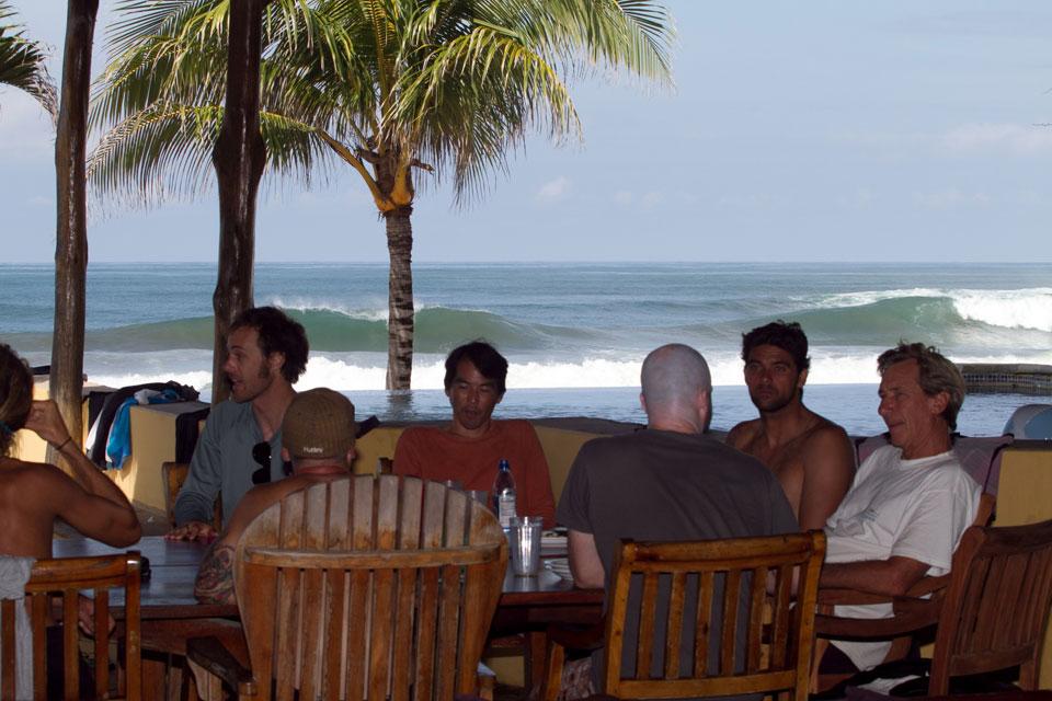 Mark and Daves, Playa Colorado, Nicaragua