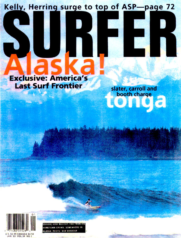 Josh Mulcoy, Cover from Surfer