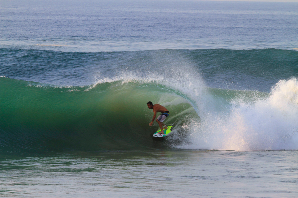 Josh Mulcoy at Las Palmeras Surf Camp