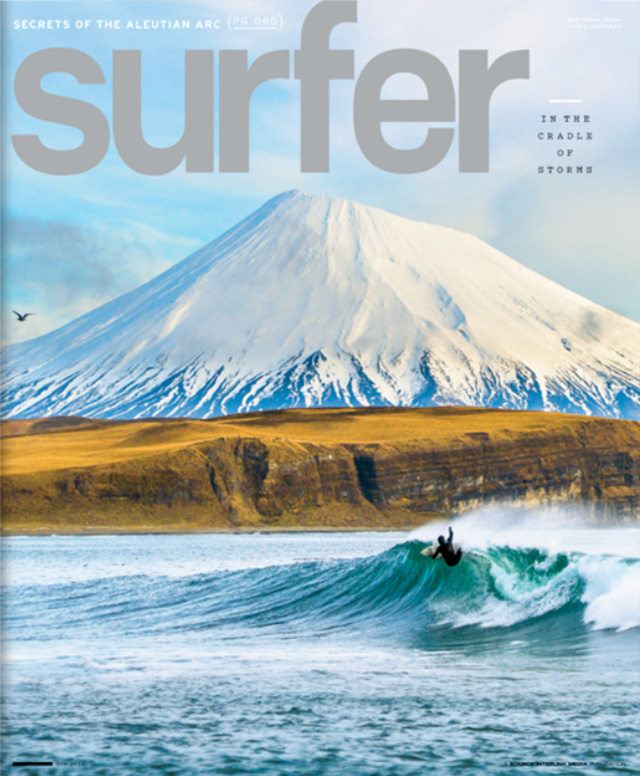Josh Mulcoy Cover Shot Surfer Magazine